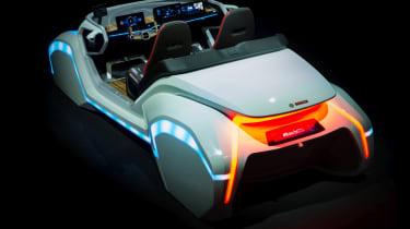 Bosch concept at CES 2017 - car