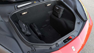 Ford Fiesta long term test - first report steering wheel left detail