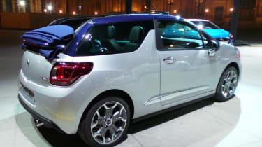 DS 3 hatchback 2016 - Cabrio rear quarter reveal
