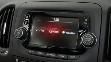 Fiat 500L centre console