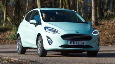 Ford Fiesta long term test - first report front cornering