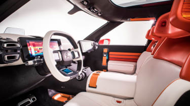 Citroen Aircross concept - front seats
