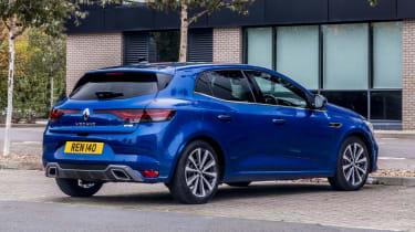 Renault Megane facelift - rear static
