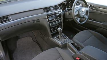 Used Skoda Superb interior front