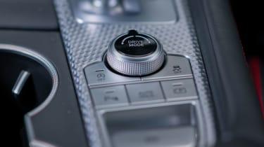 Genesis G70 Shooting Brake - interior detail