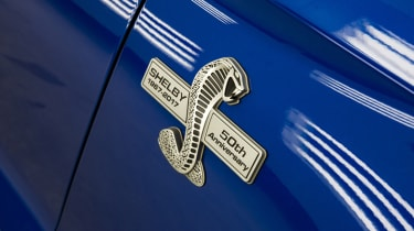 Shelby Mustang Super Snake badge