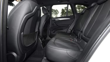 Used BMW X1 Mk2 - rear seats
