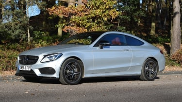 Mercedes C-Class Coupe - front static