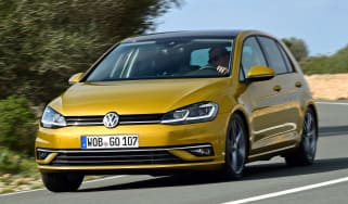 Volkswagen Golf 2017 facelift 1.5 TSI EVO - front cornering