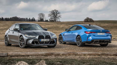 BMW M3 and M4 Competition xDrive - M3 front