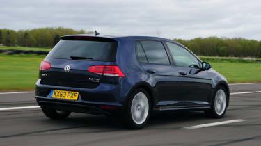VW Golf - rear tracking