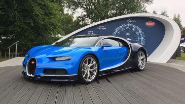 Bugatti Chiron - Goodwood front