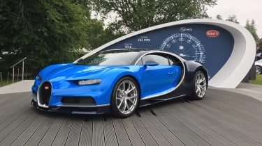 Bugatti Chiron - Goodwood front