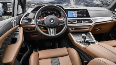 BMW X5 Competition - dash