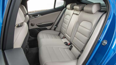 Kia Stinger - rear seats