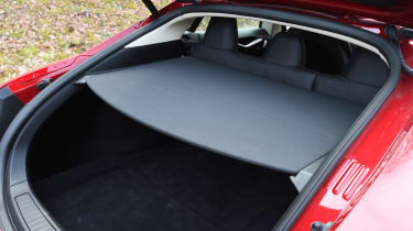 Tesla Model S long-term final report - parcel shelf