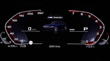 BMW M340i xDrive - dials