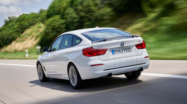 BMW 340i GT - rear action