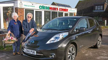 Nissan Leaf feature - front quarter