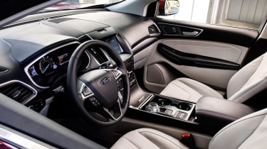 Ford Edge 2018 facelift interior