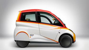 Shell Gordon Murray car side