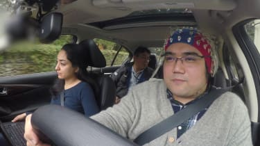 Nissan brain-to-vehicle technology - driving