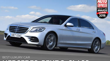 Mercedes S-Class - Luxury Car of the Year 2018