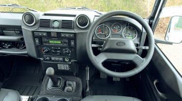 Land Rover Defender dash