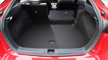 Toyota Prius 2016 UK - boot space seats down