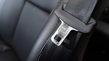 Volvo XC90 long term - seat belt detail