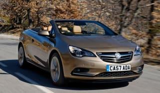 Vauxhall Cascada 2.0 CDTi front tracking