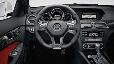 Mercedes C63 AMG Coupe dash