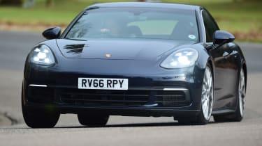 Porsche Panamera - front action