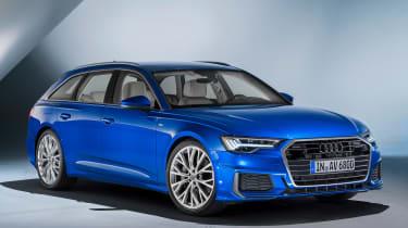 Audi A6 Avant - front/side studio