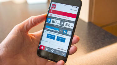 Nissan Leaf feature - electric car app