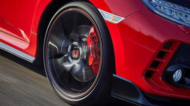 Honda Civic Type R - wheel detail