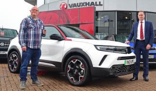 Vauxhall Mokka-e - first report header