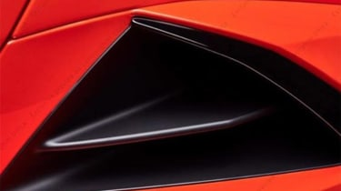 Lamborghini Huracan facelift - teaser