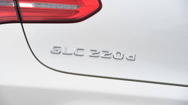 Mercedes GLC Coupe - rear badge