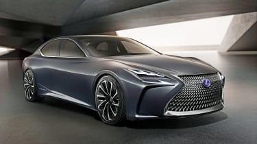 Lexus LF-FC - front