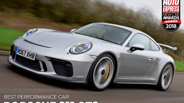 Porsche 911 GT3 - Performance Car of the Year 2018