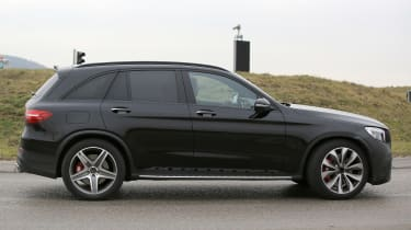 Mercedes-AMG GLC 63 side on