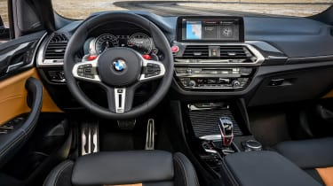 BMW X3 M Competition - dash