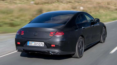 Mercedes CLS prototype - rear