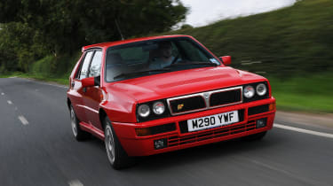 The Lancia Delta Integrale has achieved legendary status and rightly so. Drive one if you can, buy one if you dare.