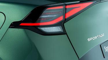 Kia Sportage - rear light