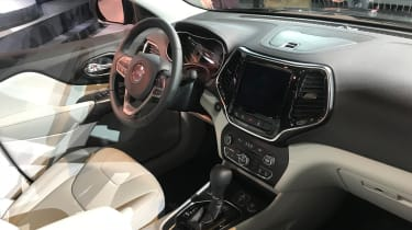 Jeep Cherokee 2018  interior