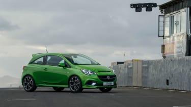 Vauxhall Corsa VXR - green