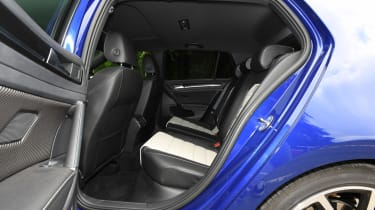 Volkswagen Golf R - rear seats