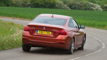 BMW 4 Series - rear